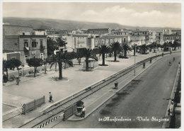 MANFREDONIA (FOGGIA) VIALE STAZIONE FERROVIARIA 1957 - Foggia