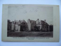 89 : Château Du Cruguil - Brelevenez Près Lannion - Côté Parc  - Plan Inhabituel - (n°545) - Frankreich