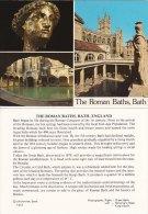 Promotion Multiview Print Roman Baths BATH Postcard Size - Géographie
