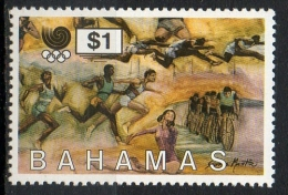 Bahamas 1988 - Olimpiadi Seoul, Olympic Games Seoul Ciclismo Atletica Cycling Athletics MNH ** - Bahamas (1973-...)