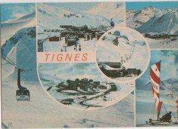 France CP  Albertville,Savoie (73) Tignes Le Lac. Obliteration Flier  1984 Liberte Gandon 2.0 - Albertville