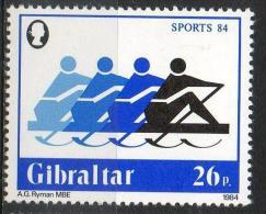 Gibilterra Gibraltar 1984 - Canottaggio, Rowing MNH ** - Gibraltar