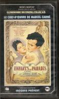 K7,VHS.René Chateau.LES ENFANTS DU PARADIS. 2ème Epoque. L'HOMME BLANC. ARLETTY, Jean-Louis BARRAULT, Pierre BRASSEUR - Comedy
