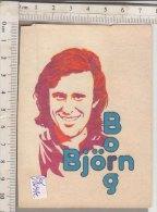 PO1094C# ADESIVO STICKERS PANINI 1980 - FIGURINE - TENNIS - BJORN BORG - Altri