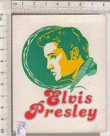 PO1100C# ADESIVO STICKERS PANINI 1979 - FIGURINE - CINEMA - MUSICA ROCK - ELVIS PRESLEY - Altri Oggetti