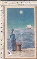 PO1118C# CALENDARIETTO ILLUSTRATO 1954 CASA DEL MARINAIO - RIMINI - Calendriers