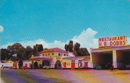 Mexico Ixmiquilpan H R Dobbs Restaurant Curios &amp  Gas Station - Mexique