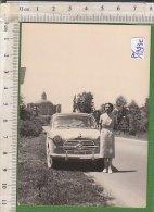 PO1243C# FOTOGRAFIA AUTO FIAT 1100 Anni '50 - Automobiles