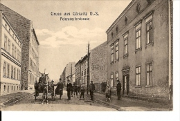 GRUSS AUS GLEIWITZ O.S. PETERSDORFERSTRASSE TBE NON ECRIS - Poland