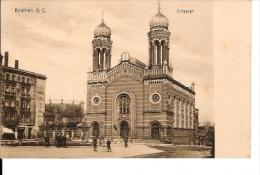 BEUTHEN O.S. SYNAGOGUE ANIMATION ECRIS - Polen