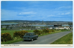 MONTROSE : GENERAL VIEW (WITH HILLMAN IMP) - Angus