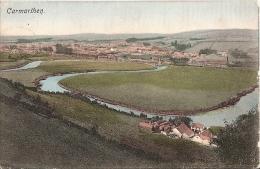 Wales Postcard - Carmarthen    BR396 - Carmarthenshire