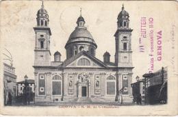 Genova - S.M. Di Carignano, 1902, Timbre - Genova