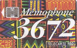 Telefonkarte  C34141450 05/93 - 1 000 000 Ex., 120 Unités, France Télécom, Memophone - Malerei
