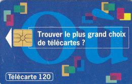 """Telefonkarte  B44049091 - 04/94 - 2 000 000 Ex., 120 Unités, France Télécom, Graphik Und """"Où"""" - Malerei"""