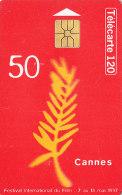 Telefonkarte  B73112097 - 04/97 - 2 000 000 Ex., 120 Unités, France Télécom, Cannes, Festival Du Film, Goldene Palme - Cinema