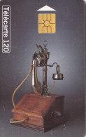 Telefonkarte  B77492044 - T2G 09/97 - 600 000 Ex., 120 Unités, France Télécom, Historique Téléphone Berliner 1910 - Telefone
