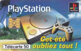 Telefonkarte  D77001862 - 07/97 - 1 000 000 Ex., 50 Unités, France Télécom, PlayStation - Giochi