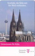 Telefonkarte  P12- 7/98 - 300 000, 12 DM, DTMe, 750 Jahre Kölner Dom, Weltkulturerbe - Culture