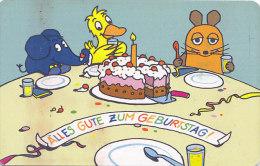 Telefonkarte  S PD 02/01, 12 DM, DTMe, Sendung Mit Der Maus, Wir Sind Die Maus - 30 Jahre - BD