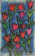Telefonkarte  OPS P08 05/96 - 300 000, 12 DM, DTMe, Künstler: H. Barthelmie, Reklame: Petri AG Aschaffenburg - Malerei