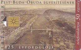 Telefonkarte  EZ A Dec/1998 31-IG, 50 Units, 125 Jahre Budapest - Landschaften