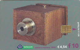 Telefonkarte  Kpn-Teleom, F 10,-, Fotoapparat: Camera Obscura 1840 - Telefonkarten