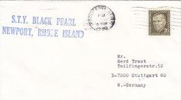 "Schiffspost: S.T.Y. ""BLACK PEARL"", Newport, Rhode Island, Stempel: Providence 3.APR 1980 - Maritime"