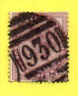,, G.B. ,, ** ONE PENNY **  CACHET N° 930 ,, REINE VICTORIA ,, 1881 ,,  TTBE - Used Stamps