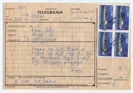 Old Letter - Telegramm, DDR, Germany - [6] République Démocratique