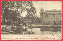 CARTOLINA VIAGGIATA ITALIA -  ZOO BUENOS AIRES - Esposizione Lavoro Torino 11  - 10 X 15 Cm - ANN. TORINO 26 - 08 - 1917 - Esposizioni