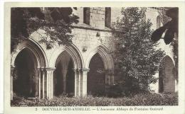 R :  Eure :  DOUVILLE  Sur  ANDELLE  : L'  Ancienne   Abbaye  De  Fontaine  Guérard - France