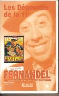 K7,VHS. LES DEGOURDIS DE LA 11e. FERNANDEL, Ginette LECLERC. - Comedy
