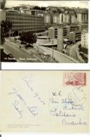 Potenza: Nuove Costruzioni. Cartolina B/n Viaggiata 1958 (francobollo Commemorativo L.15 Lourdes) - Potenza