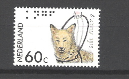 Nederland 1985 Guide Dog Chien D´aveugles MNH ** Yvert 1233 NVPH 1321 - Chiens