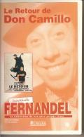K7,VHS. LE RETOUR DE DON CAMILLO. FERNANDEL, Gino CERVI. - Comedy