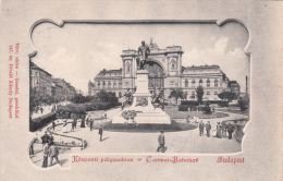 Budapest, - Central Bahnhof - To Roma 1900 - Hungary