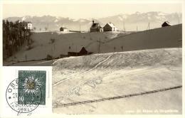 Oberegg - St.Anton Mit Skigelände               1943 - AR Appenzell Rhodes-Extérieures