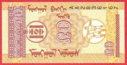 Mongolia -  20 Mongo  1993  UNC / Papier Monnaie - Billet - Mongolie - Mongolia