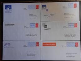 Lot De 11 POSTREPONSE Et PAPR LAMOUCHE Différents - Entiers Postaux