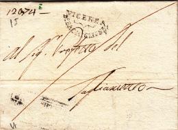 Pref. Vicenza Per Il Prefetto Del Tagliamento 1809. Annotazione D´archivio A Magine - Italy