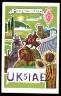 QSL USSR UKRAINE Kiev - Radio Amatoriale