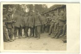 Wk1914 -(1 Carte Photo )  Deutsche Soldaten - German Soldiers -Stellung - Inf.Regt.49 - War 1914-18