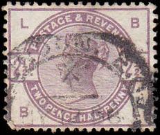 Great Britain Scott # 101, 2½p Lilac (1884) Queen Victoria, Used - 1840-1901 (Victoria)