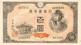 JAPAN P.  89a 100 Y 1946 UNC - Japan