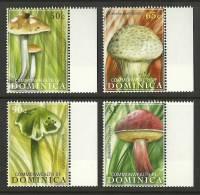 dom0909co Dominica 2009 Mushroom 4v