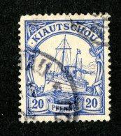 (1837)  Kiauchau 1901  Mi.8  (o)   Catalogue  € 10.00 - Colony: Kiauchau