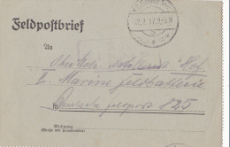 Feldpost WW1: Reserve Regiment No. 80 Dtd 12.7.1917 - Letter Inside  (G35-29) - Militaria