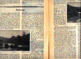 Dans « Touring  Club De Belgique» 01/01/1935 : « SPITANGE» - Journaux - Quotidiens