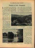 Dans « Touring  Club De Belgique» 01/02/1935 : « NISMES Et Ses Abannets» - Kranten